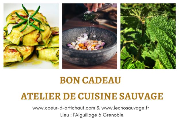 Atelier de cuisine sauvage Grenoble